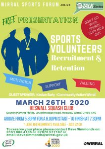 Talk Series – Free Presentation – VOLUNTEERS – Recruitment & Retention