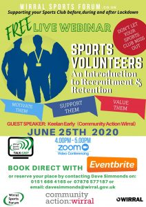 TALK-Cast Series  An Introduction to Sports Volunteers 25th June 2020.