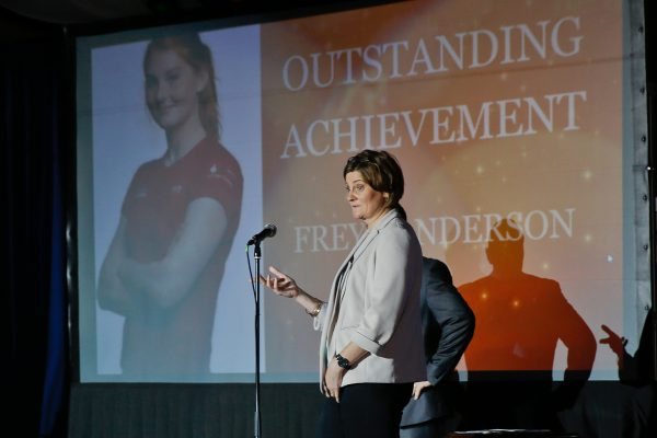 Helen Anderson on behalf of Frya Anderson - Outstanding Achievement of the Year
