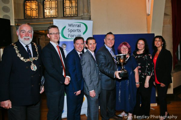 Sports Forum Committee team with Micky Mellon